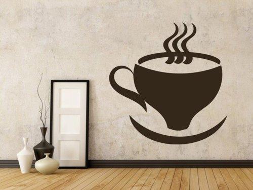 Samolepky na zeď Hrnek kávy 0048
