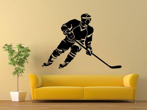 Samolepky na zeď Hokejista 0598