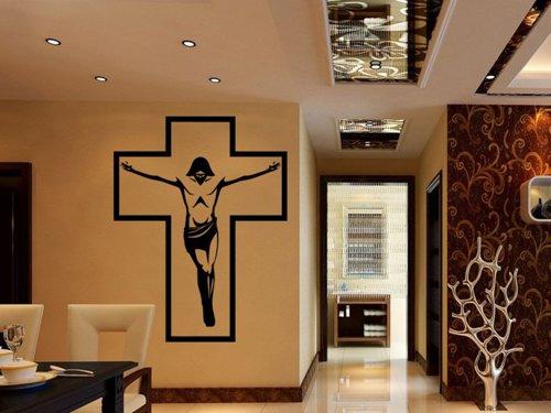 Samolepky na zeď Ježíš na kříži 1373