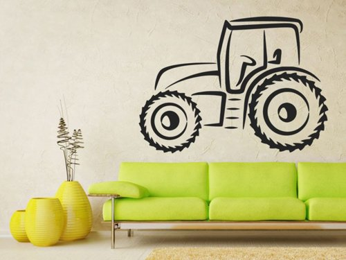 Samolepky na zeď Traktor 0711