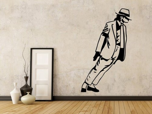 Samolepky na zeď Michael Jackson 1336