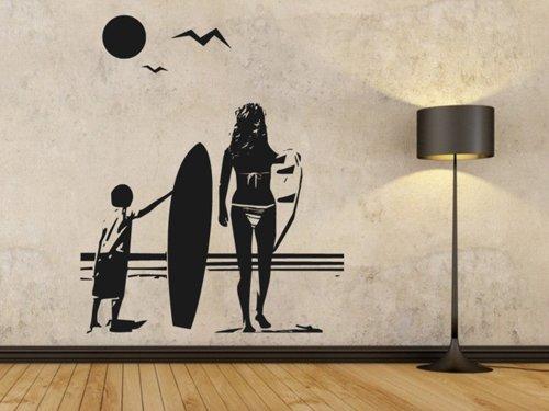 Samolepky na zeď Pláž 001