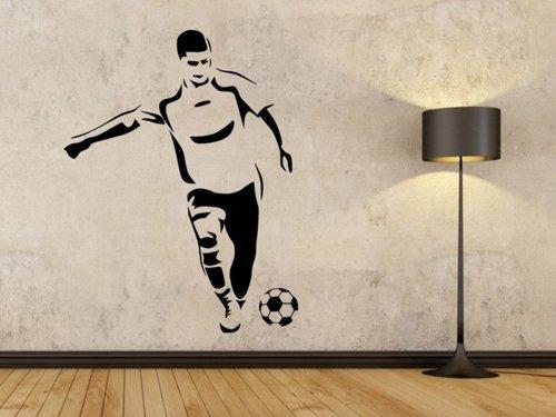 Samolepky na zeď Fotbalista 0589