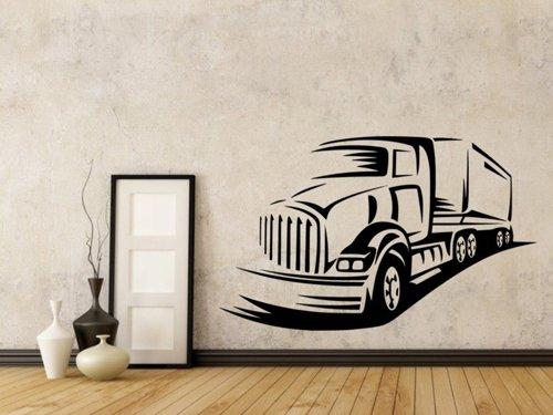 Samolepky na zeď Kamion 0745