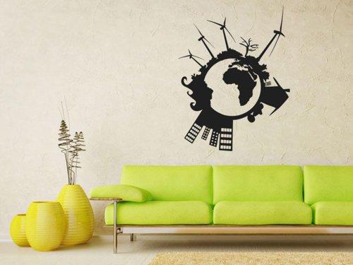 Samolepky na zeď Svět 004