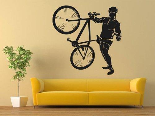 Samolepky na zeď Cyklista 1036