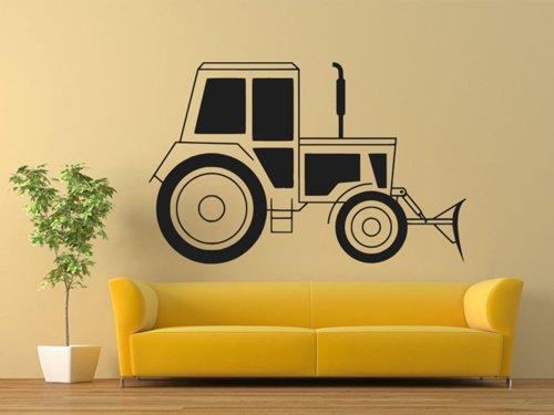 Samolepky na zeď Traktor 0712