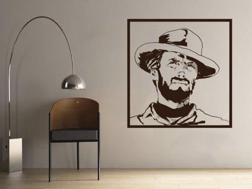 Samolepky na zeď Clint Eastwood 001