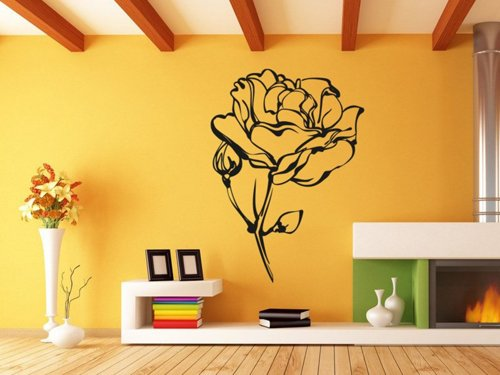 Samolepky na zeď Růže 013
