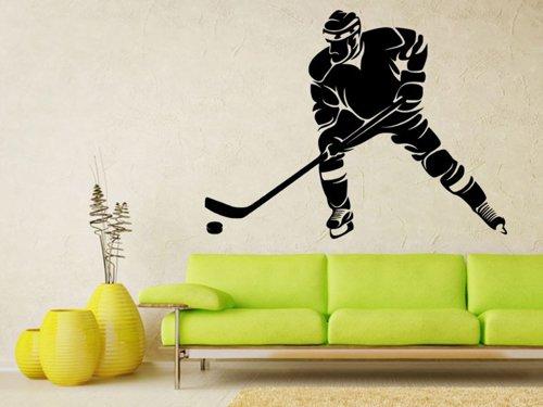Samolepky na zeď Hokejista 0600