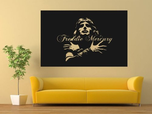 Samolepky na zeď Freddie Mercury 1365