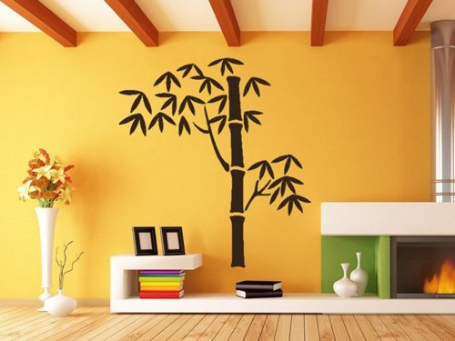 Samolepky na zeď Bambus 006