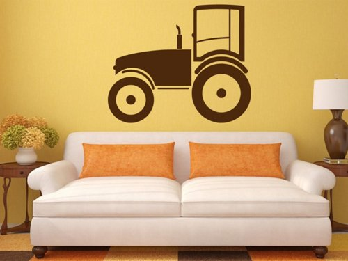 Samolepky na zeď Traktor 0721