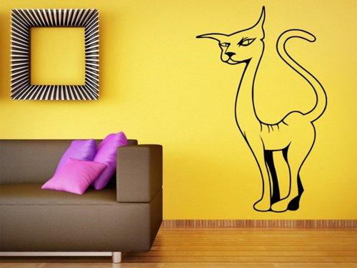 Samolepky na zeď Kočka 0429