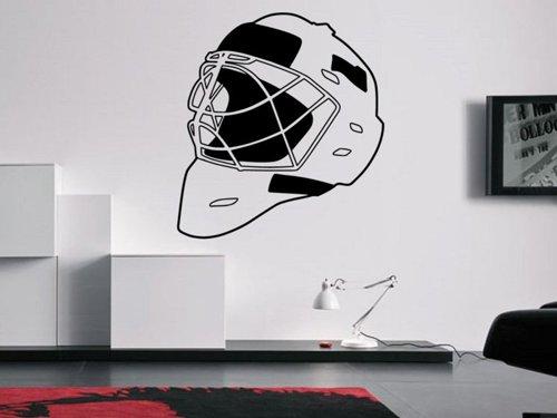 Samolepky na zeď Helma hokejového brankáře 0692