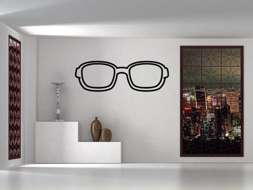 Samolepky na zeď Sluneční brýle 1286