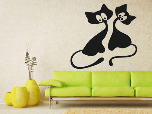 Samolepky na zeď Kočička 009