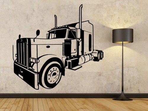 Samolepky na zeď Kamion 0754