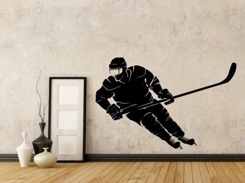 Samolepky na zeď Hokejista 0693