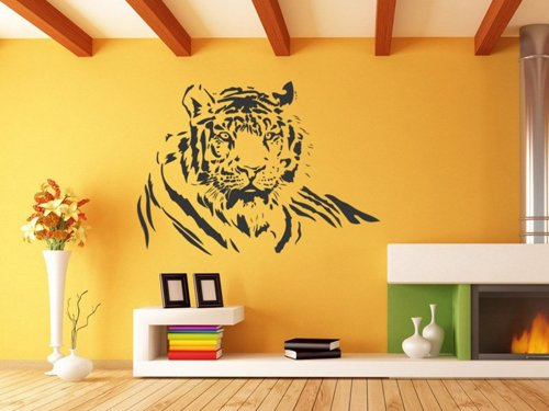Samolepky na zeď Tygr 005