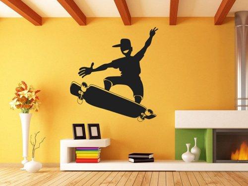 Samolepky na zeď Skateboardista 0956