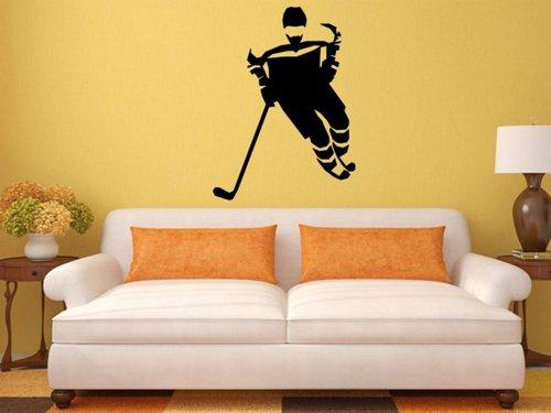 Samolepky na zeď Hokejista 0607