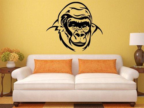 Samolepky na zeď Gorila 002
