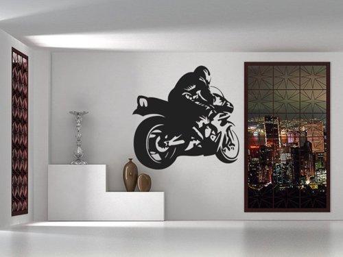 Samolepky na zeď Motorka 1020