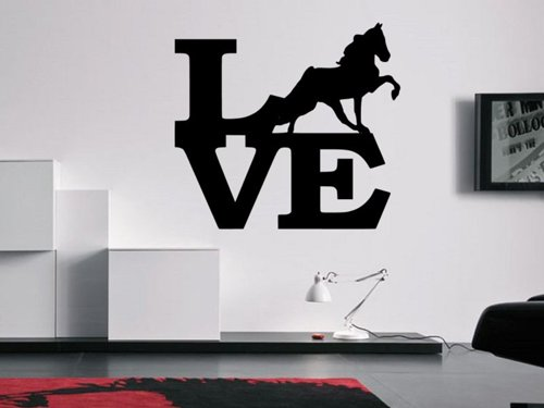 Samolepky na zeď Láska ke koním 0406