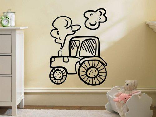 Samolepky na zeď Traktor 0719