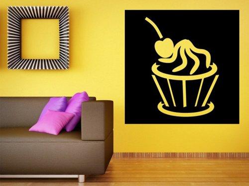 Samolepky na zeď Cupcake 0067