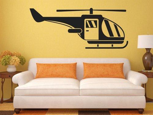 Samolepky na zeď Helikoptéra 0819