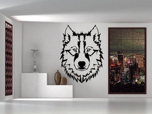 Samolepky na zeď Vlk 1403