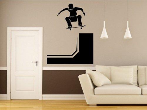 Samolepky na zeď Skateboardista 0955