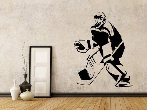 Samolepky na zeď Hokejista 0599