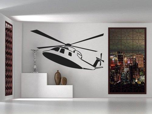 Samolepky na zeď Helikoptéra 0813