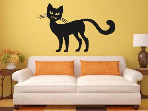 Samolepky na zeď Kočka 0465