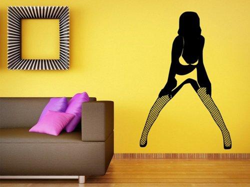 Samolepky na zeď Sexy žena 008
