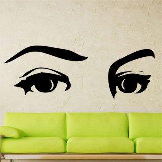 Samolepka na zeď Oči 001 - 120x43 cm