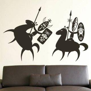 Samolepící dekorace Afričani 004 - 156x100 cm