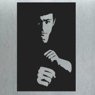 Samolepka na zeď Bruce Lee 001 - 60x91 cm