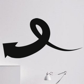 Samolepící dekorace Šipka 039 - 200x100 cm