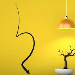Samolepící dekorace Šipka 018 - 80x290 cm