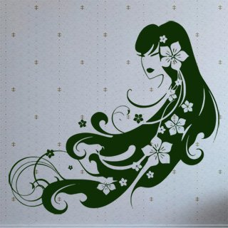 Samolepka Žena 006 - 110x100 cm