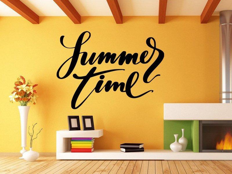 Samolepka na zeď Nápis Summer Time 0644