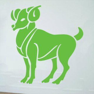 Samolepící dekorace Beran 001 - 96x120 cm