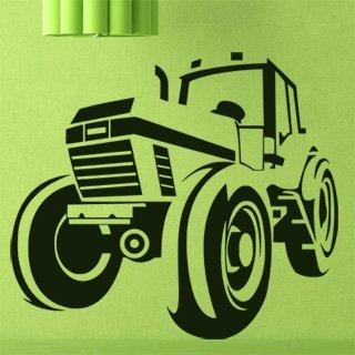 Samolepka na zeď Traktor 001 - 69x60 cm