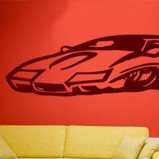 Samolepka na zeď Auto 019 - 246x60 cm