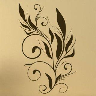 Samolepka Ornamenty z rostlin 001 - 100x159 cm