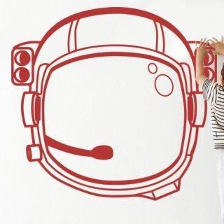 Samolepka na zeď Astronaut 001 - 64x60 cm